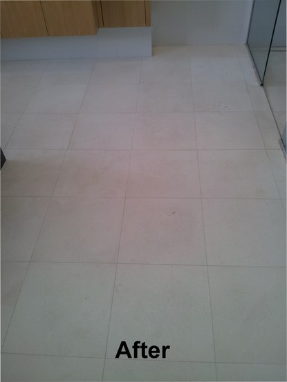 Limestone, marble and travertine honing, cleaning and sealing