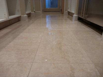 Marble ngói và đánh bóng sàn
