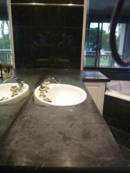 Marble benchtop, nhà bếp hàng đầu, vanities & bảng đánh bóng, làm sạch và niêm phong